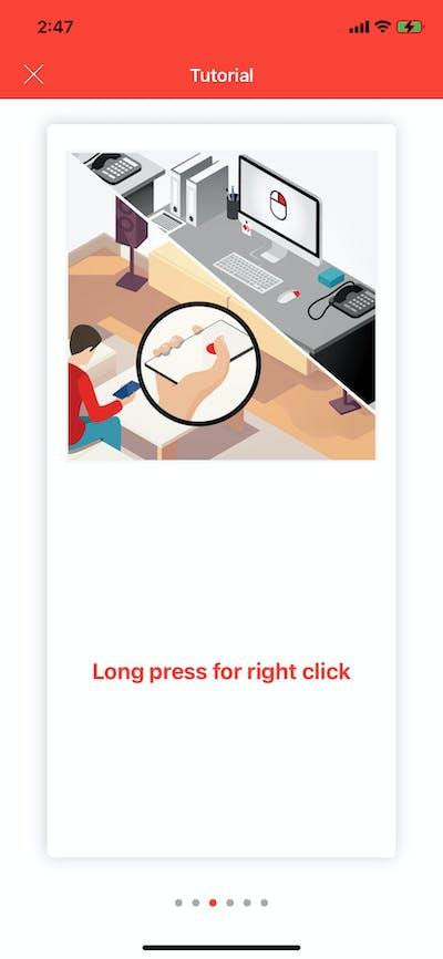 Instruction screenshot