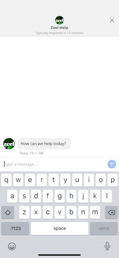 Chats & Messaging screenshot