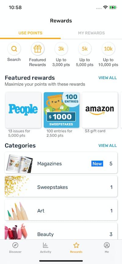 Achievements screenshot