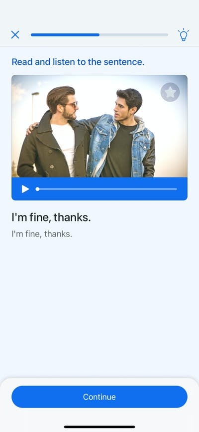 Audio Playback screenshot