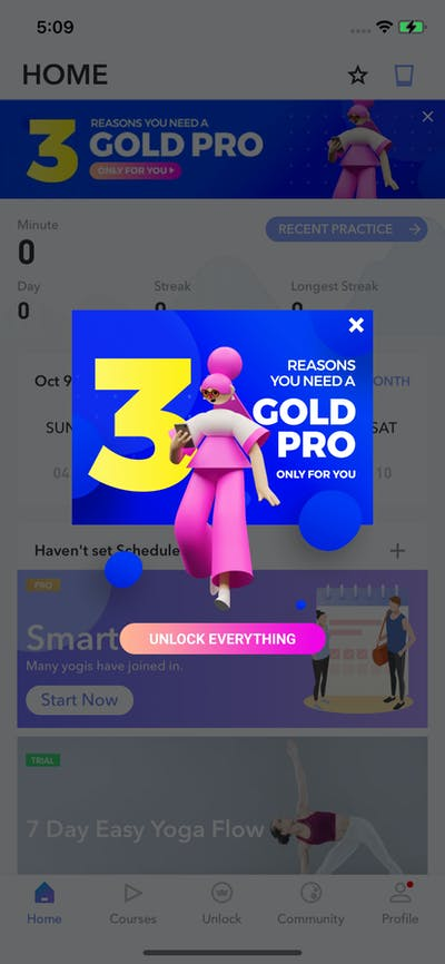 Ads screenshot