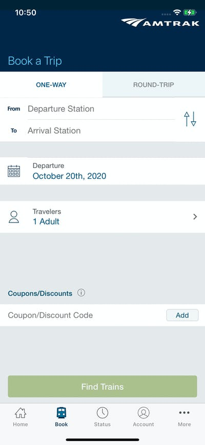 Booking Details screenshot