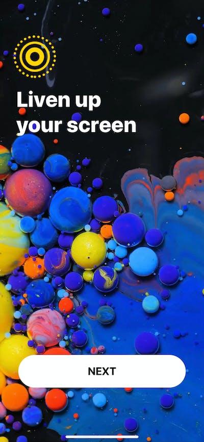 Launch Screens screenshot