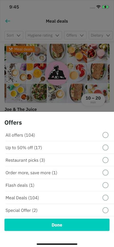 Promos & Deals screenshot