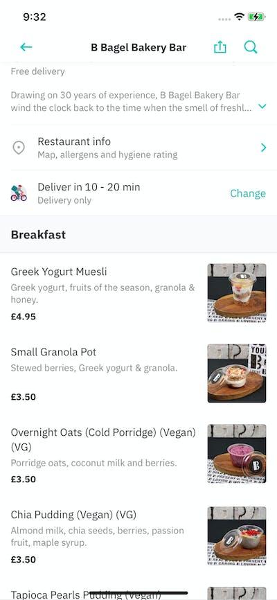 Recipes & Menus screenshot