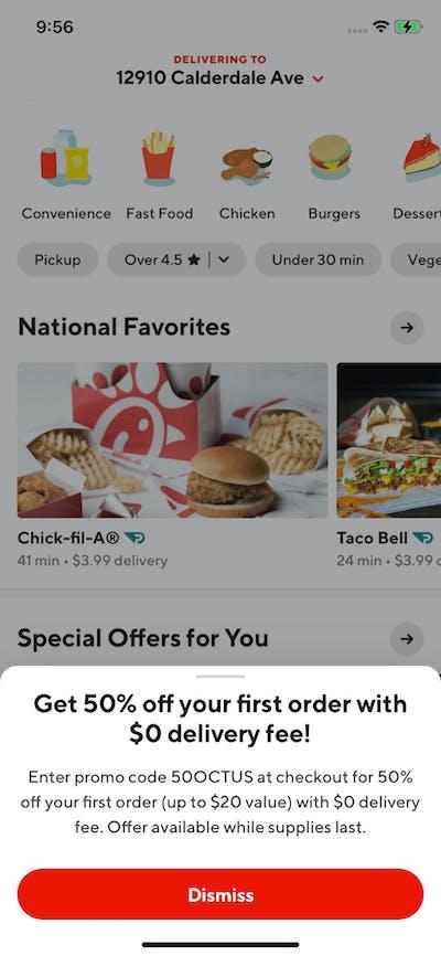 Ads screenshot