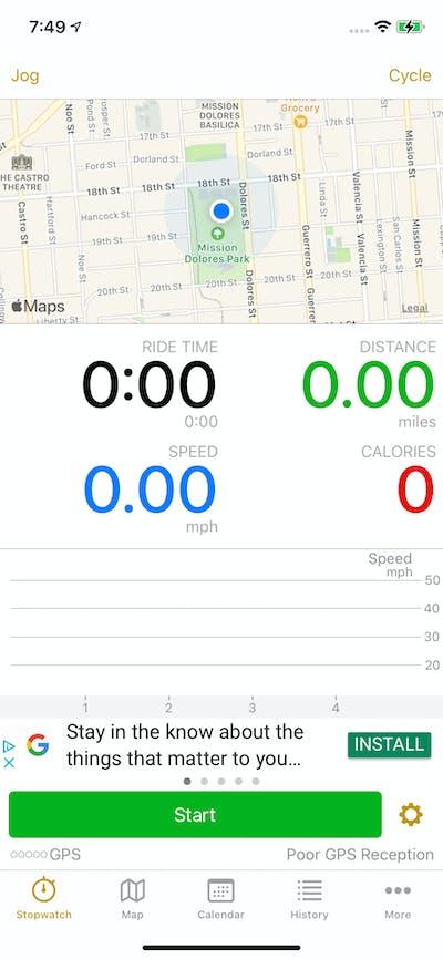 Home screenshot