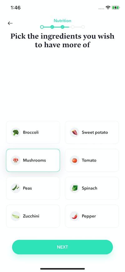 Quizzes screenshot
