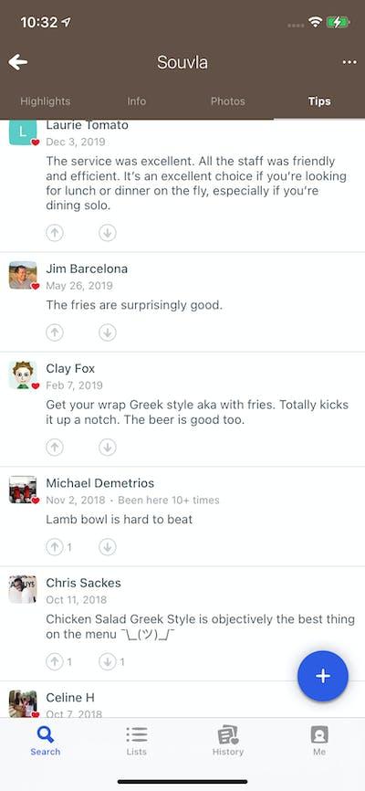 Reviews & Rating screenshot
