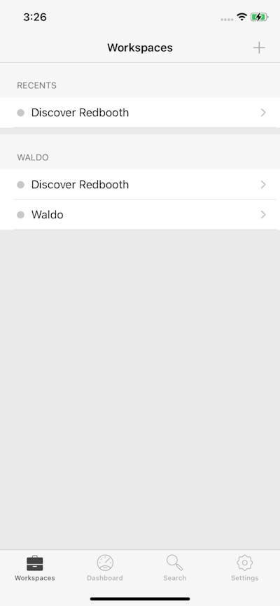 Groups & Rooms screenshot